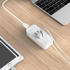 Fast Charging 4 Port USB Charger