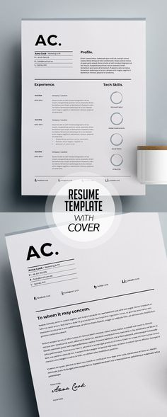 Simple and clean Resume Templates to present your completer bio-data, portfolio, education, skills, and job experiences. Modern resume design have everything Simple Resume Template, Resume Design Template, Cv Template, Resume Templates, Website Template, Cover Letter For Resume, Cover Letter Template, Simple Cv, Cv Words