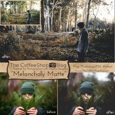 """Today I have a brand new action called """"Melancholy Matte"""" inspired by the gloomy winter weather we are having this week. This action re..."""