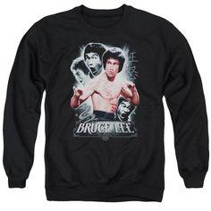 Bruce Lee - Inner Fury Adult Crewneck Sweatshirt