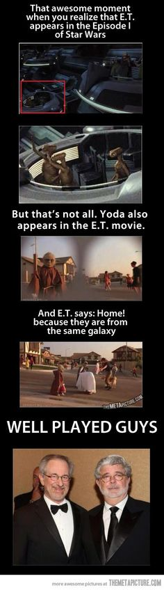 Cameo appearance in Star Wars and E.T… on http://seriouslyforreal.com/celebrities/cameo-appearance-in-star-wars-and-e-t/