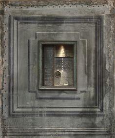 Peter Gabriëlse's box sculptures in exhibition, Photo by Kotomicreations  Kotomi Yamamura. London, U.K