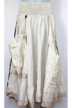 ewa-i-walla-linen-skirt. I'm going to dress like a hobo when I'm a mom and call it boho chic. Get ready friends