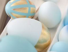 Hand-Painted Egg Decor   Pottery Barn Kids LOVE THIS!!! <3 :-)