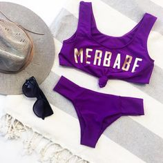 Calling all MERMAIDS! With the salt in your hair and the sun in your soul, how can you not wear this Merbabe suit everywhere?! Perfect for spring break, summer style and festival fashion! #SaltyMermaidSwim