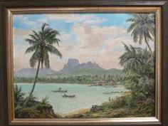 Gemälde Bora Bora K. Theessen