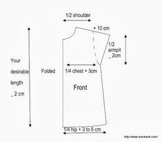 http://www.mazkwok.com/2013/08/free-sewing-pattern-short-kimono-sleeve.html