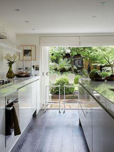Inside Simone Rocha's art-filled terrace home - Vogue Living Top Interior Designers, Modern Interior Design, Vogue Living, Victorian Homes, Victorian Kitchen, Interiores Design, Decor Styles, Design Trends, Kitchen Design