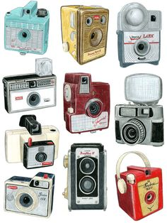 I'm so lucky to have some vintage cameras that were my Grandpas. Cherish them!