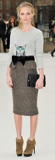 Would wear this in a #HOTsecond. Bravo Kate Bosworth!