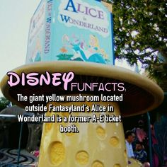 Alice in wonderland Disneyland disney facts