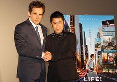 「LIFE!」ベン・スティラー5年ぶりに来日、初対面の岡村隆史をスカウト : 映画ニュース - 映画.com