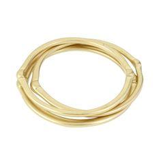 Gold Bangle Bracelet Set - Kenneth Cole