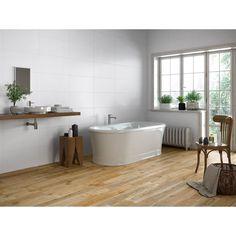 Bayard Natural - Right Price Tiles Murs Beiges, Corner Bathtub, House Plans, Tiles, Bathroom, Design, Leroy Merlin, Home, Deco