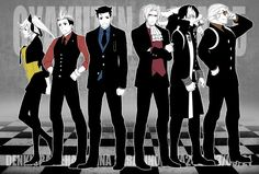 Ace Attorney Dual Destinies main characters