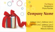 Gift shop visiting cards online design, 120 visiting cards 99/- only. Just log in to printasia and get the visiting cards at your door step.