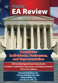 passkey ea review part 1 individuals irs enrolled agent exam study guide 20142015 edition volume 1