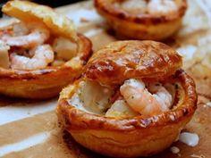 Bouchées aux crevettes au thermomix