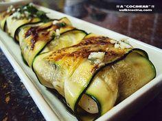 Para servir como aperitivo, entrante o guarnición: raviolis de calabacín…
