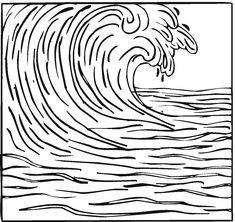1000 images about tsunami on pinterest waves coloring for Waves coloring page