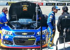 #25 Cup Crew & Chase Elliott getting ready to make his second Cup start at Richmond