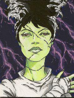 Bride of Frankenstein | Flickr - Photo Sharing!