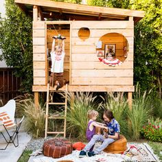Create the Ultimate Backyard Fort - Sunset Mobile