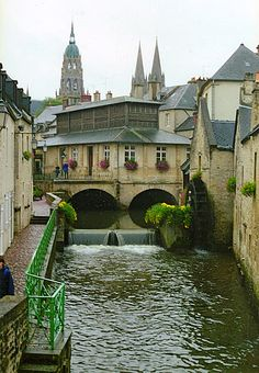 Beautiful Bayeux, France