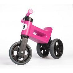 Teddies Odrážadlo Funny Wheels New Sport ružová - Parametre 2 In, Tricycle, Cool Stuff, Funny, Sports, Products, Tricycle Bike, Black Rims, Hamster Wheel