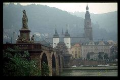 Heidelberg, Germany. I lived here for four years. We returned stateside the beginning of my freshman year. I left my heart in Heidelberg.