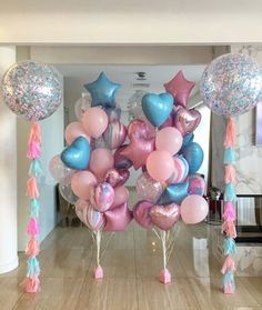 Babyshower If girl Jojo Siwa Birthday, Unicorn Birthday Parties, Birthday Balloons, Unicorn Party, Baby Birthday, Balloon Decorations Party, Balloon Garland, Birthday Party Decorations, Baby Shower Decorations