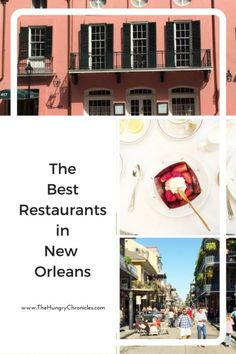 Best Restaurants in New Orleans | The Hungry Chronicles: if you're heading to The Big Easy anytime soon you'll want to save this ultimate guide to all the best restaurants in New Orleans! It also has an interactive map so you can see what's around you and clickable links so you can see the restaurant website and call to make a reservation.