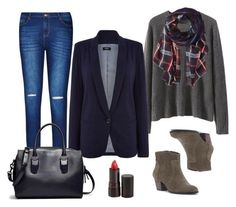 """""""Fall Outfit Idea #7"""" by thebudgetbabe on Polyvore featuring Sole Society, Oasis, City Chic, Serge Lutens and Michael Stars"""