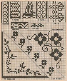 Sentimental Baby: Free Simple Vintage Cross Stitch Patterns: