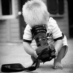 Assim nasce um fotógrafo...