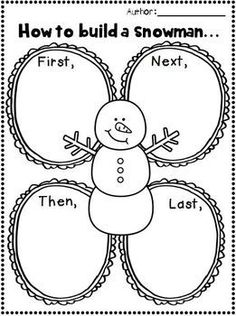 January Writing Activities for Grade Kindergarten Writing, Teaching Writing, Writing Activities, Winter Activities, Literacy, Writing Prompts, Work On Writing, Writing Table, Writing Paper