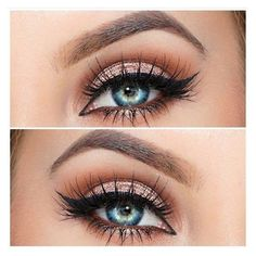 Rose gold eyeshadow ❤ liked on Polyvore featuring beauty products, makeup, eye makeup, eyeshadow and eye brow makeup