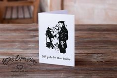 Little girls love their daddies - Birthday Card Handmade Greeting Card Designs, Handmade Greetings, Daddy Birthday Card, Birthday Cards, All Grown Up, Fathers Day Gifts, Love, Card Stock, Envelope