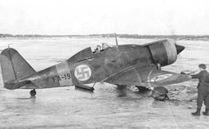 Italian Fiat G 50 with Finnish marks
