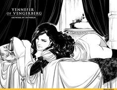 Йеннифер-Witcher-Персонажи-The-Witcher-фэндомы-3634046.jpeg (1010×783)