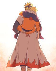 minato&naruto: I am strong, when I am on your shoulders. Naruto Uzumaki, Anime Naruto, Naruto Fan Art, Naruto Cute, Naruto Sasuke Sakura, Minato Kushina, Naruhina, Uzumaki Family, Naruto Family