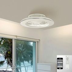 Mantra Alisio M6705 LED Fan Ceiling Flush Fitting White Frame White Ceiling Fan, Mantra, Attic, Remote, Led, Frame, Home Decor, Loft Room, Picture Frame