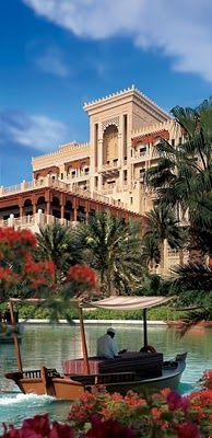 Al Qasar hotel at Madinat Jumeirah, Dubai.