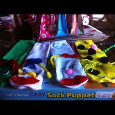 Easy sock puppet