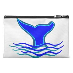 Whale Tail Travel Accessory Bag