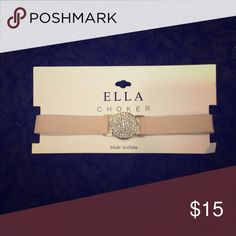 🆕 Ella Choker PRODUCT DETAILS:   * One Size/Adjustable  * Velvet detailing  * Brand New Ella Jewelry Necklaces