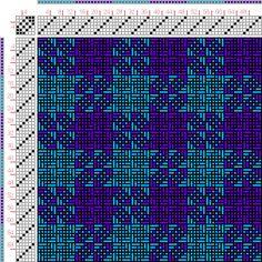 draft image: Figurierte Muster Pl. XIX Nr. 5, Die färbige Gewebemusterung, Franz Donat, 6S, 6T