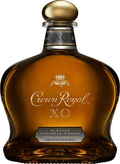 Try Crown Royal XO, a signature whisky blend from 50 of our finest whiskies, finished in cognac casks. Crown Royal Xo, Crown Royal Drinks, Cocktail Drinks, Alcoholic Drinks, Bourbon Drinks, Cocktail Recipes, Whisky, Vodka, Alcohol Drink Recipes