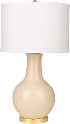 The classic Audrey Lamp is ready to make a colorful impact in your home. Available in a variety of colors, choose a hue that will accent your favorite throw pillow for a put-together look.
