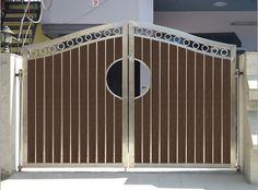 Wood Plastic Composite Doors and Out Gates   Wudlon